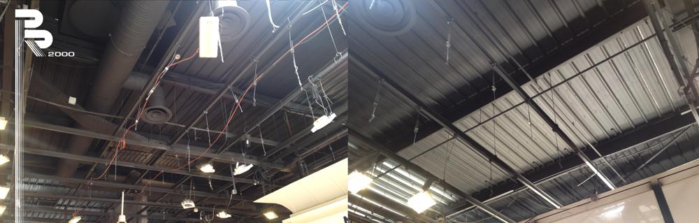2.Plafond.ossature.métallique